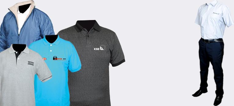 0437088d5 Corporate T-Shirt Manufacturers Pune   Industrial Uniform ...